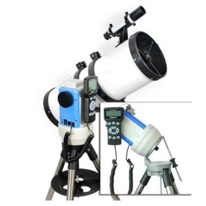 "画像1: White 6"" Computerized GPS Equatorial Reflector Telescope"