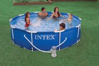"10'x30"" Metal Frame Pool Set"