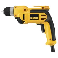 "DEWALT  DWD110K - 3/8"" (10mm) VSR Pistol Grip Drill Kit with Keyless Chuck"