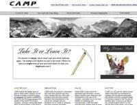 camp-usaキャンプUSA【ロッククライミング、登山、キャンプ用品】