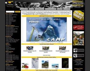 画像1: プロライトギアー【登山用具、寝袋、スキー、スノーギアー】